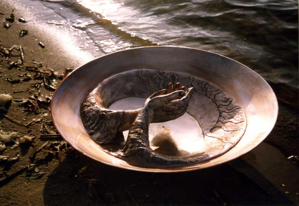 Ceremoniële Schaal, 1993, brons