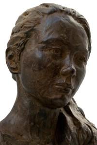 'Anne', 2013, brons (detail)