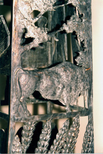 monument Obelisk, detail 'Wisent'