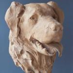 'Bas', 1992, bronze resin