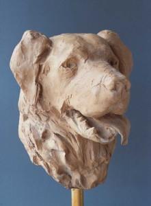 'Bas', 1992, bronspolyester