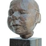 'Daan', 2000, bronze resin