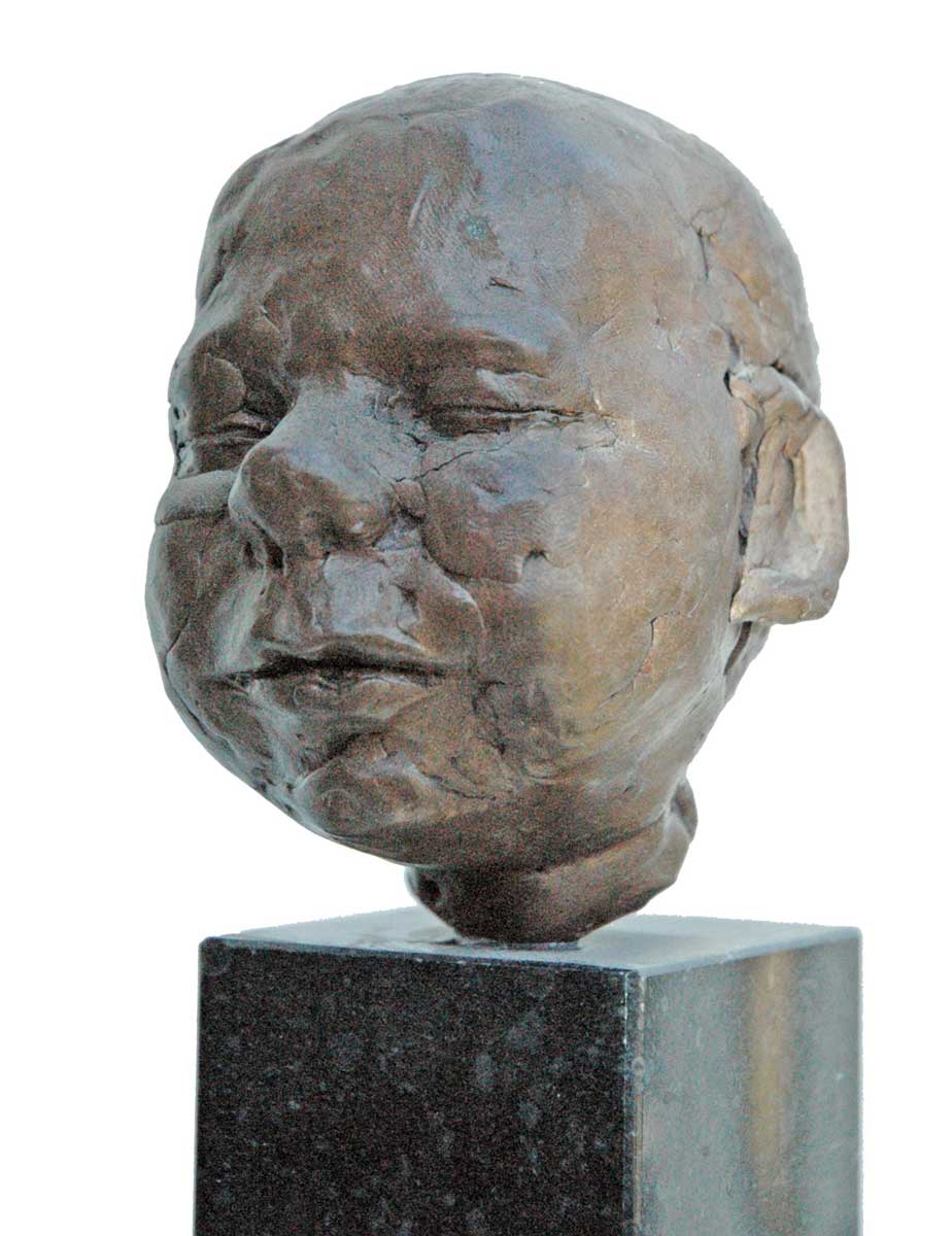 'Daan', 2000, bronze resin