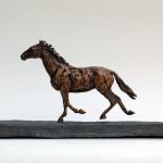 animal sculpture Piraat, posthumously portrayed