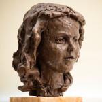 'Alice-II', 2015, bronze resin