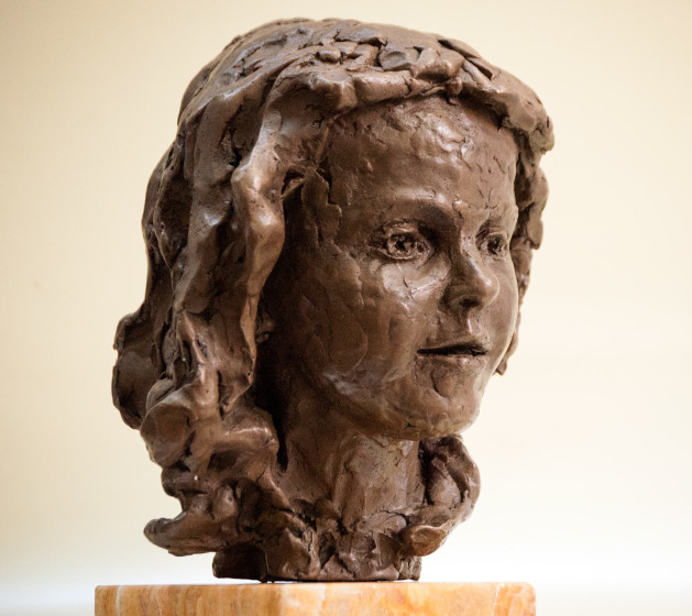 'Alice-II', 2015, bronze resin